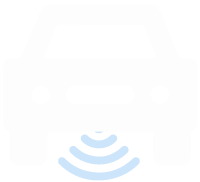 Vector image of a Car with wifi